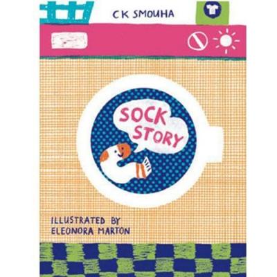 Sock Story 一雙襪子的故事精裝繪本