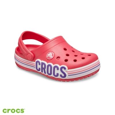Crocs卡駱馳 (童鞋) 卡駱班條紋圖案小克駱格 206345-611