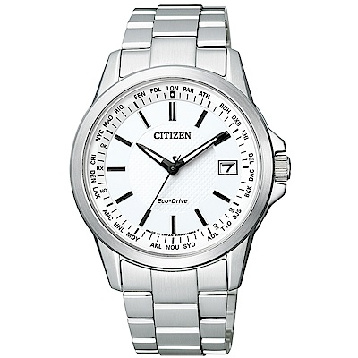 CITIZEN 星辰/GENTS 紳士必備電波光動能腕錶/CB1090-59A
