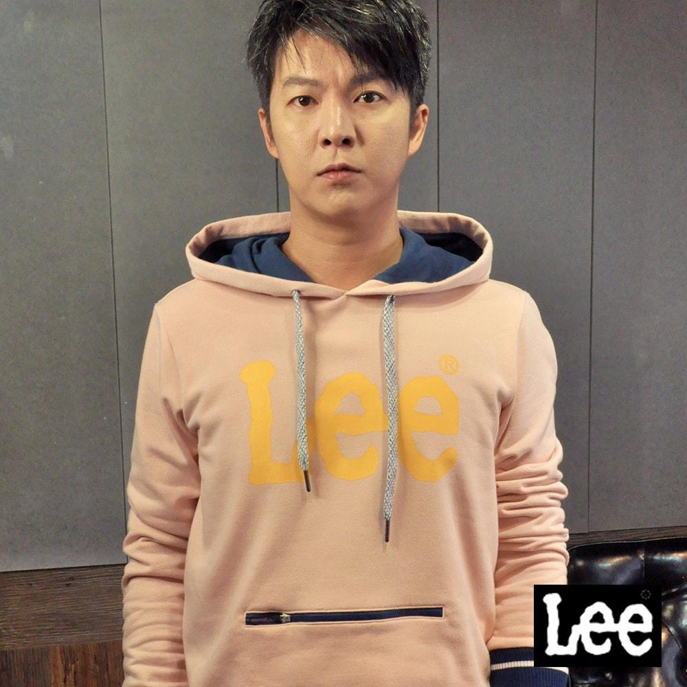 Lee 拉鍊口袋大LOGO長袖連帽TEE恤/RG @ Y!購物