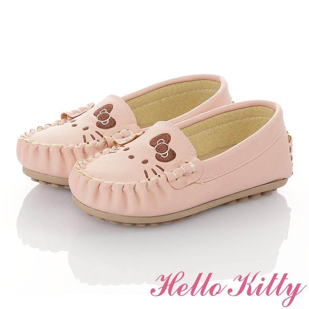 HelloKitty親子鞋童鞋 柔軟減壓防滑休閒鞋-粉