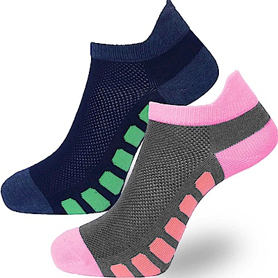 MIT 立領防磨短襪六雙 SE993