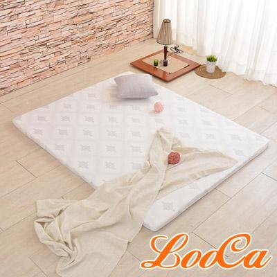 LooCa 棉柔專利HT 5cm舒眠乳膠床墊(雙人5尺)