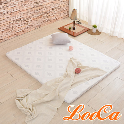 LooCa 棉柔專利HT 5cm舒眠乳膠床墊(加大6尺)
