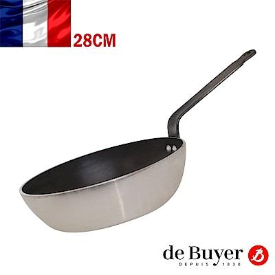 de Buyer畢耶 CHOC系列-5層平底單柄不沾深炒鍋28cm