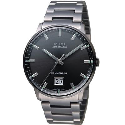 MIDO 美度 COMMANDER 香榭系列大日期機械錶-M0216263306100/42mm