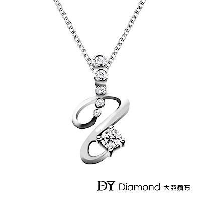 DY Diamond 大亞鑽石 18K金 0.15克拉  設計時尚鑽墜