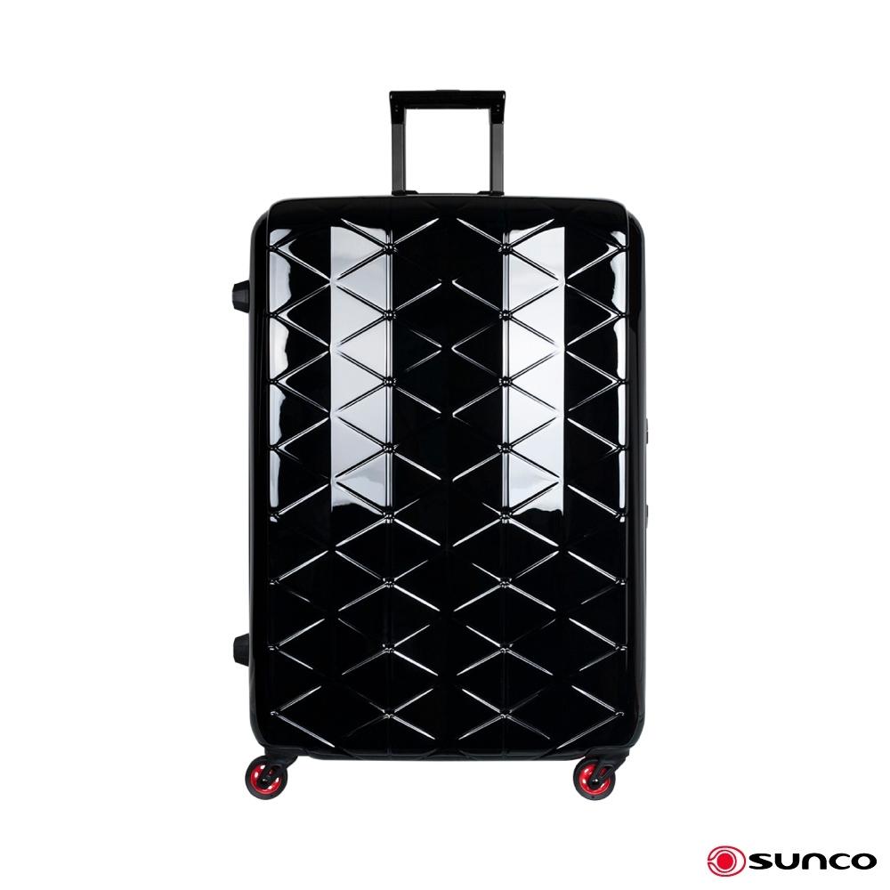 日本SUNCO 125周年限定版 27吋 鎂合金框拉桿箱 黑色 最輕框架箱