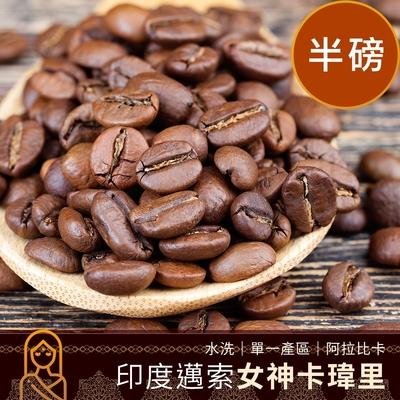 CoFeel 凱飛鮮烘豆印度邁索女神卡瑋里水洗單一產區咖啡豆半磅