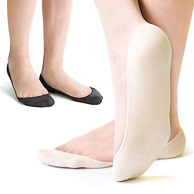MIT 防滑純色隱形襪 五雙SE965