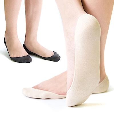 MIT 防滑純色隱形襪 12雙SE965