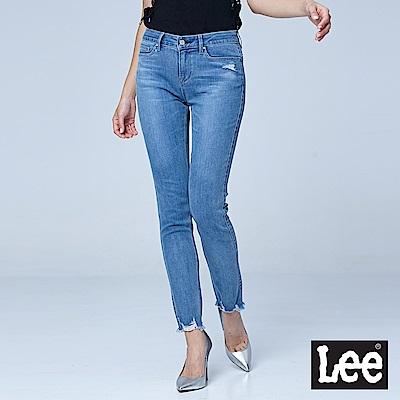 Lee 9分高腰合身窄腳牛仔褲/BO