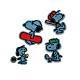 日本Minoda史努比造型刺繡徽章S027971系列 product thumbnail 1