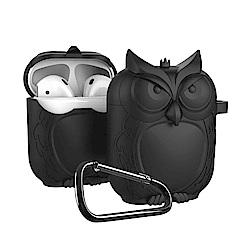 AirPods貓頭鷹造型保護套/四色可選