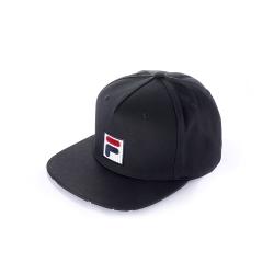 FILA 時尚LOGO帽-黑 HTU-1100-BK
