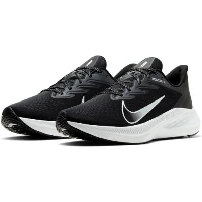 NIKE 慢跑鞋 休閒 健身 運動  男 黑 CJ0291005 ZOOM WINFLO 7