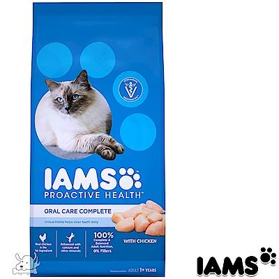 IAMS 愛慕思 健康優活 雞肉 口腔護理 成貓糧 7磅
