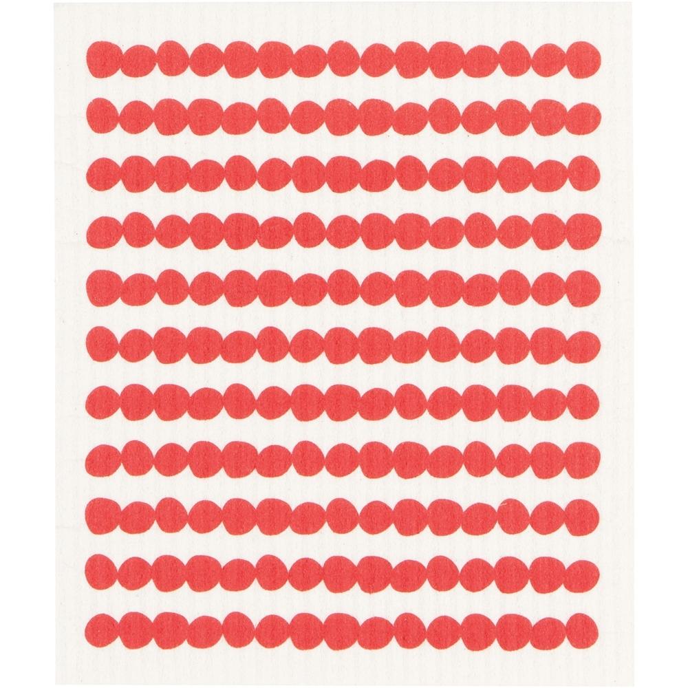 《NOW》瑞典環保抹布(紅點)