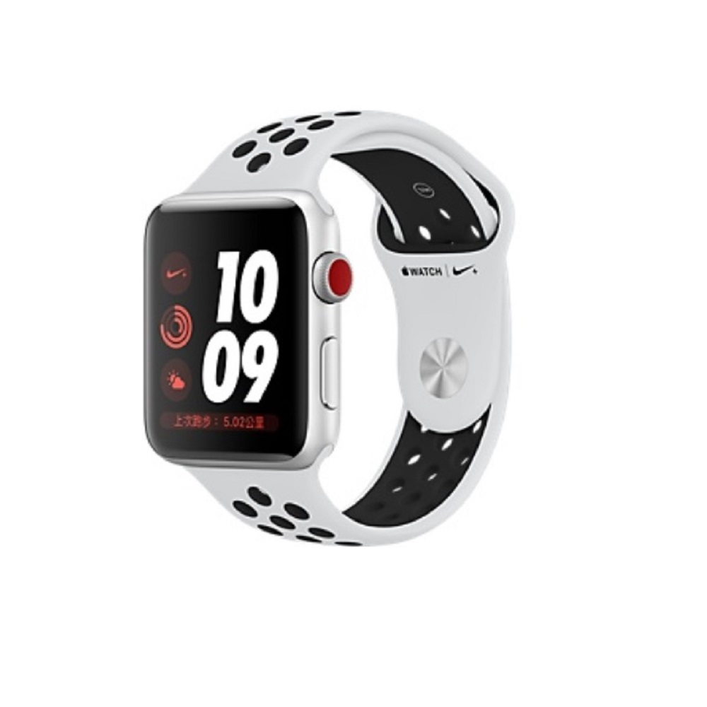 Watch Nike+ Series3 GPS+行動網路42公釐 銀鋁黑 @ Y!購物