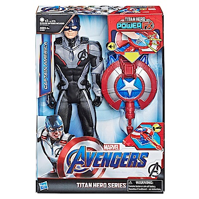 MARVEL復仇者聯盟12吋電子泰坦英雄美國隊長