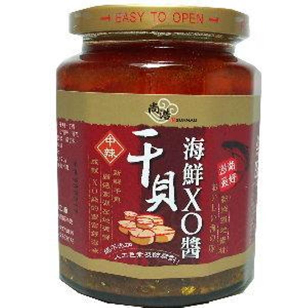 澎湖尚浩 干貝海鮮XO醬-中辣(450g/瓶)