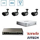 AVTECH HD 全室外監控套裝方案(二)