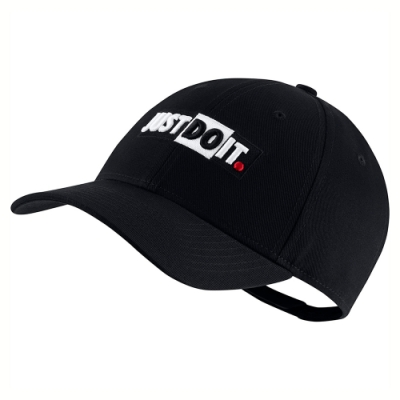 NIKE 帽子 男女款 老帽 可調帽圍 遮陽 黑 CQ9519010  U NSW L91 CAP JDI+ BLOCK