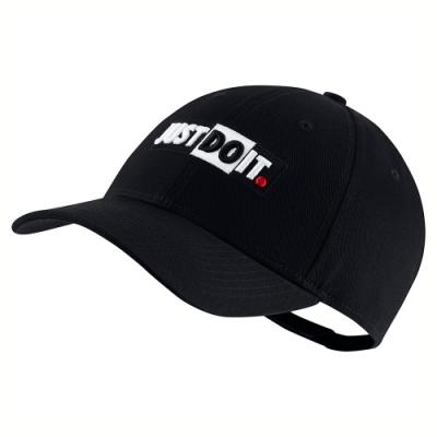 NIKE 棒球帽 老帽 遮陽帽 男女 黑 CQ9519010 NSW L91 CAP JDI+ BLOCK