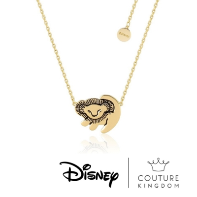 Disney Jewellery by Couture Kingdom迪士尼獅子王辛巴項鍊