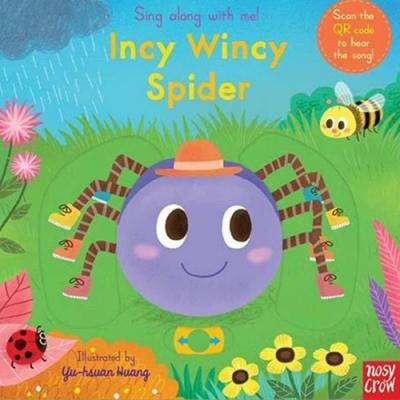 Incy Wincy Spider 小小蜘蛛兒童謠歌唱操作書(英國版)