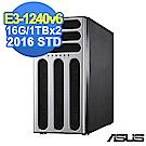 (無卡分期-12期)  ASUS TS300-E9 16G/1TBx2/2016STD