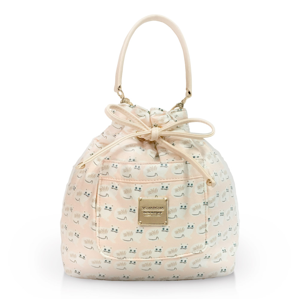VOVAROVA空氣包-口袋水桶包-Miss Meow