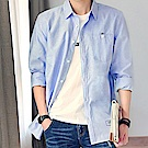 BuyGlasses 約會素面長袖襯衫