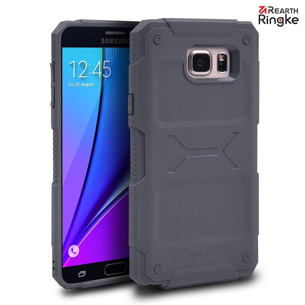 【Ringke】Galaxy Note 5 [Rebel] 加強防撞防刮軟質保護殼 product image 1