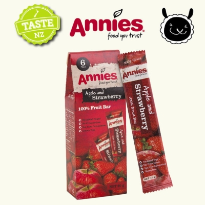 (活動)紐西蘭Annies 全天然水果條-草莓(15gx6片)