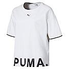 PUMA-女性流行系列Chase短袖T恤-白色-歐規