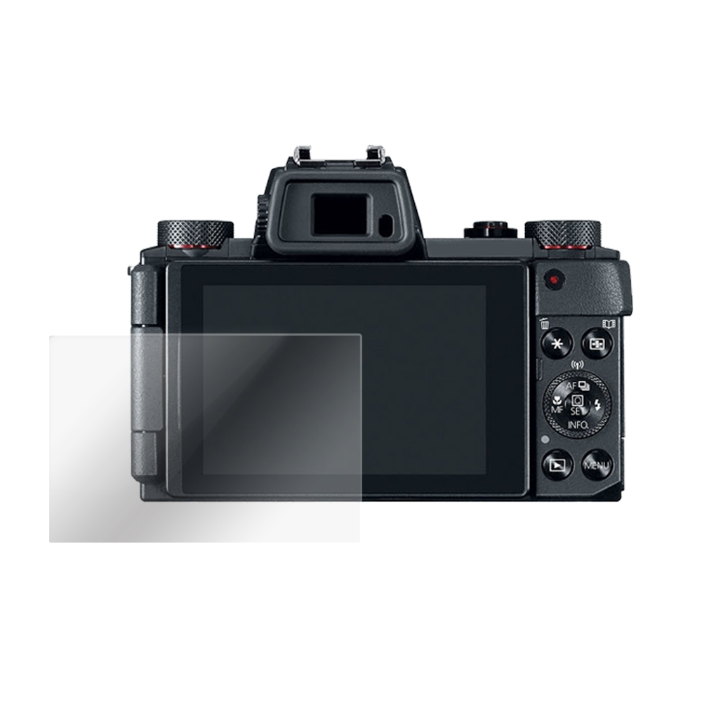 Kamera 9H 鋼化玻璃保護貼 for Canon PowerShot G5 X / G5X / 相機保護貼 / 贈送高清保護貼