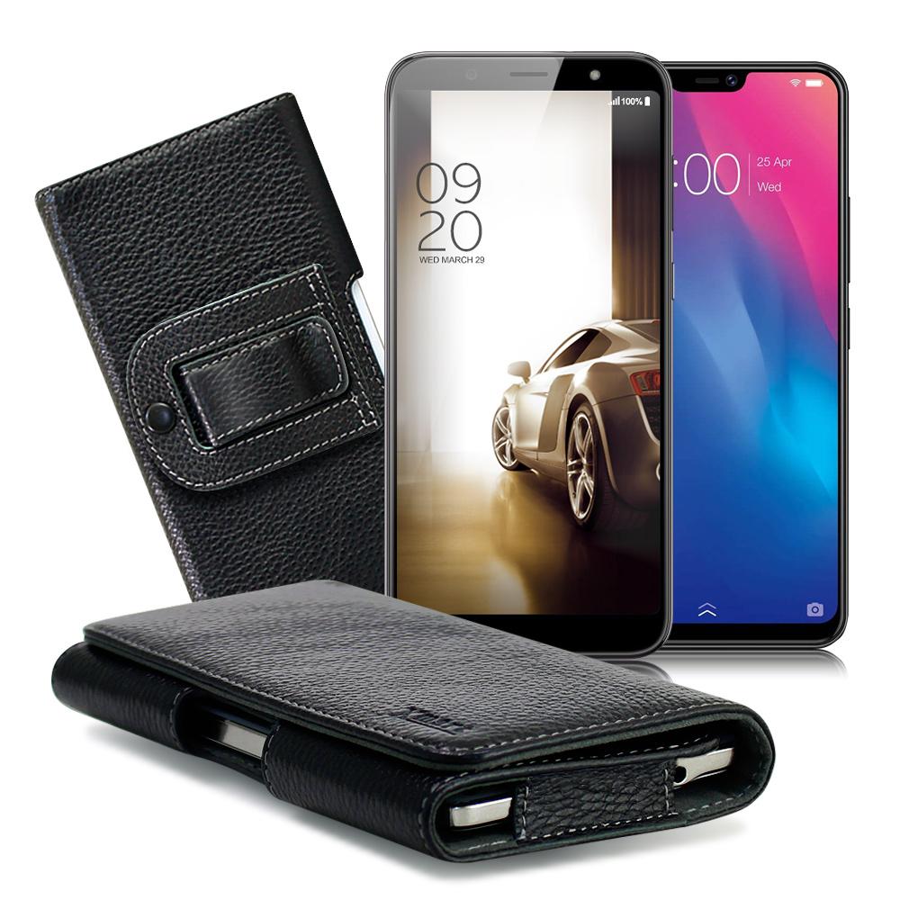 XM  HTC U12 Life/ SUGAR S20s/ VIVO V9麗緻真皮腰掛皮套