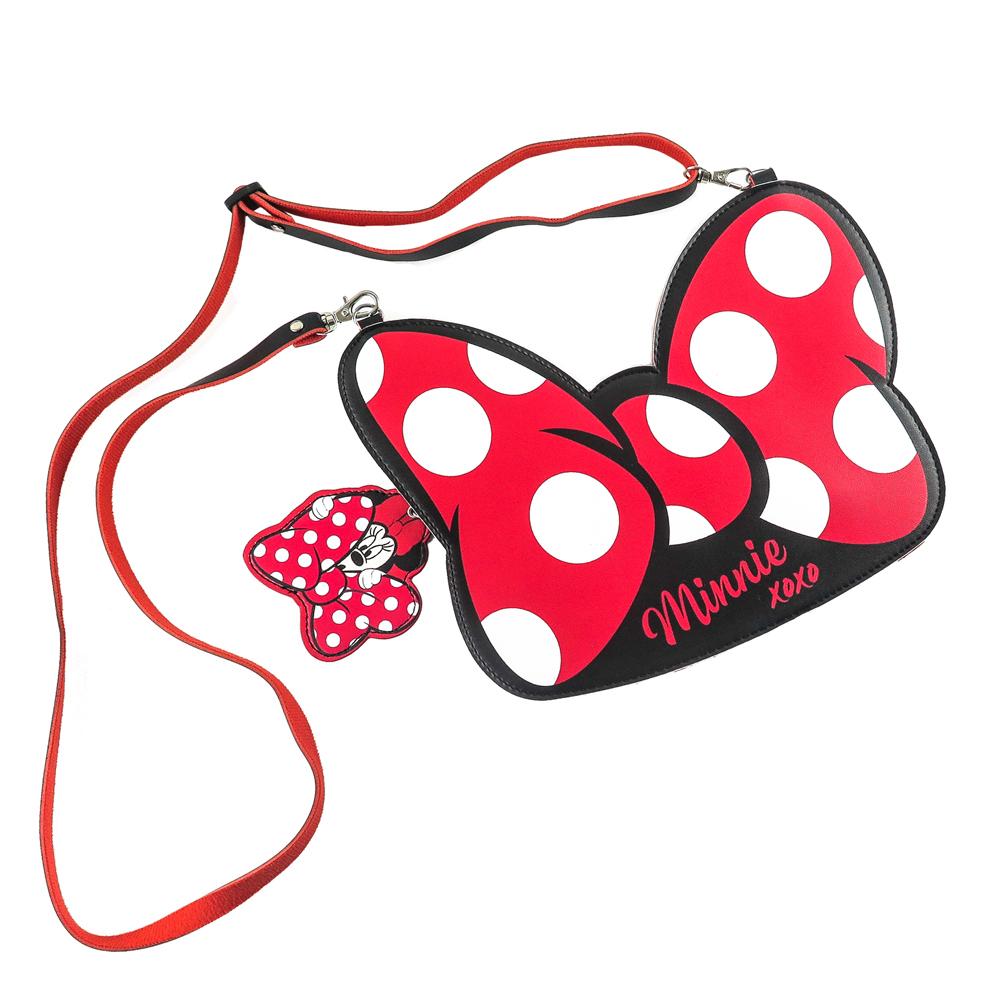 Disney迪士尼大蝴蝶結手機萬用包