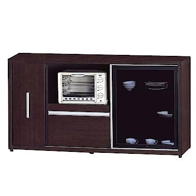 品家居 薇多恩5.1尺餐櫃下座(二色可選)-151.5x52x81cm免組