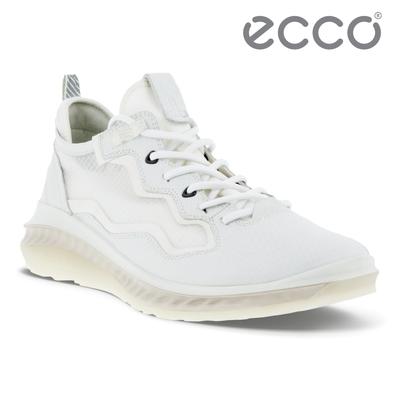 ECCO ST.360 M 適動360輕盈透氣運動鞋 男鞋 白色