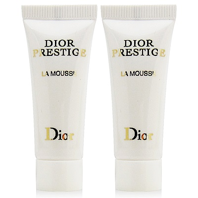 Dior迪奧 精萃再生花蜜洗面乳10ml(禮盒拆售無盒版) x2入