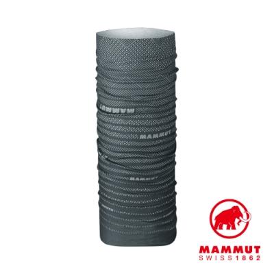 【Mammut 】Mammut Neck Gaiter 防曬快乾頭巾 黑/鈦金灰 #1191-05814