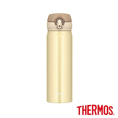 THERMOS膳魔師不鏽鋼真空保溫瓶<b>0</b>.<b>5</b>(JNL-503)-CRG(奶油金)