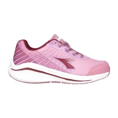 DIADORA 女專業輕量慢跑鞋-路跑 運動 DA31630 藕粉深紫