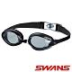 【SWANS 日本】專業光學柔軟舒適型泳鏡(防霧/抗UV/矽膠 SWB-1黑) product thumbnail 1
