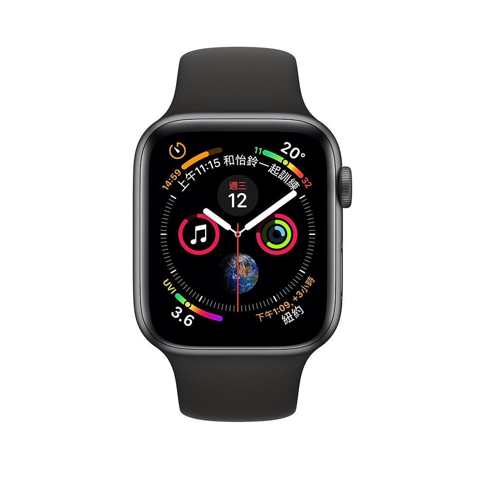 【福利品】Apple Watch Series 4 GPS 44mm 鋁金屬錶殼