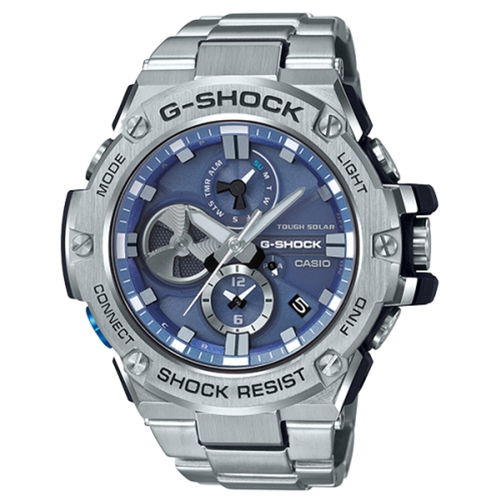 CASIO G-SHOCK 競速太陽能運動腕錶/GST-B100D-2A product image 1