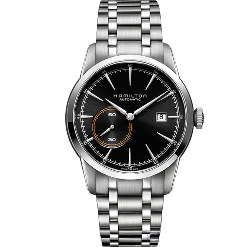 Hamilton RailRoad系列偏心小秒盤機械腕錶(H40515131)