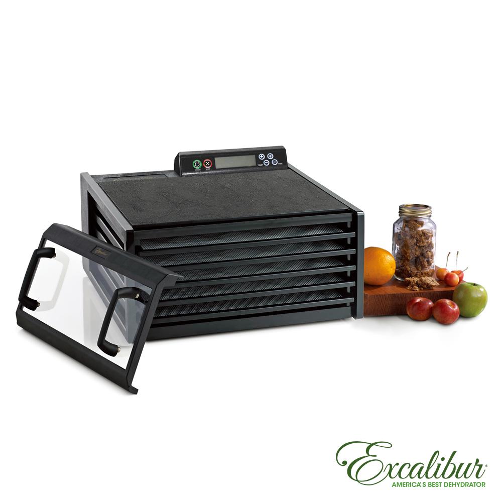 Excalibur伊卡莉柏低溫乾果機五層/數位式/塑膠(黑)3548CDB